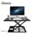 2017 Office furniture New Modern Standing Computer Table Design Space Saving Sit And Stand Computer Desk Adjustable Laptop stand