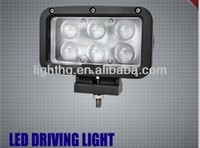 "5.7"" 60 watt led driving light 60w led work light 10w CREE LED ATV/UTV/SUV"
