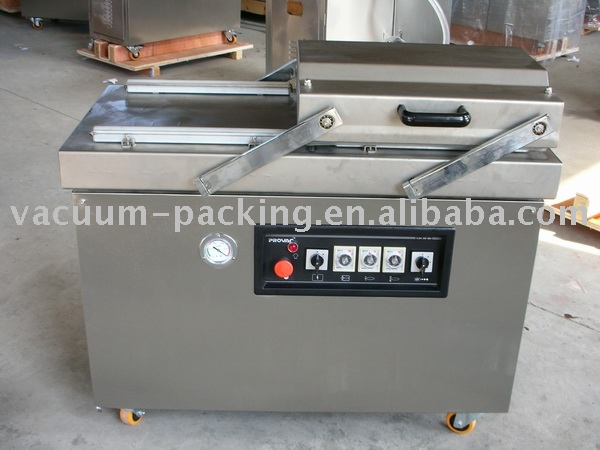 meat products automatic vacuum packaging sealing machine