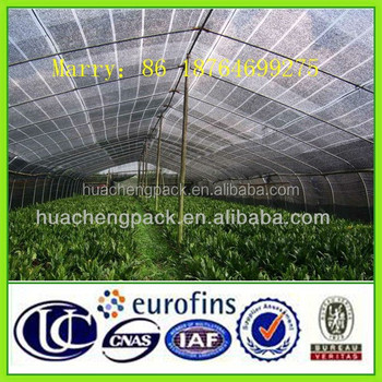 HDPE Shade net for Greenhouse Covering