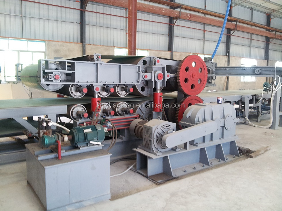 melamine paper laminating particle board production line