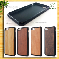Durable TPU Wood Phone Case For IPhone 5 6 6plus