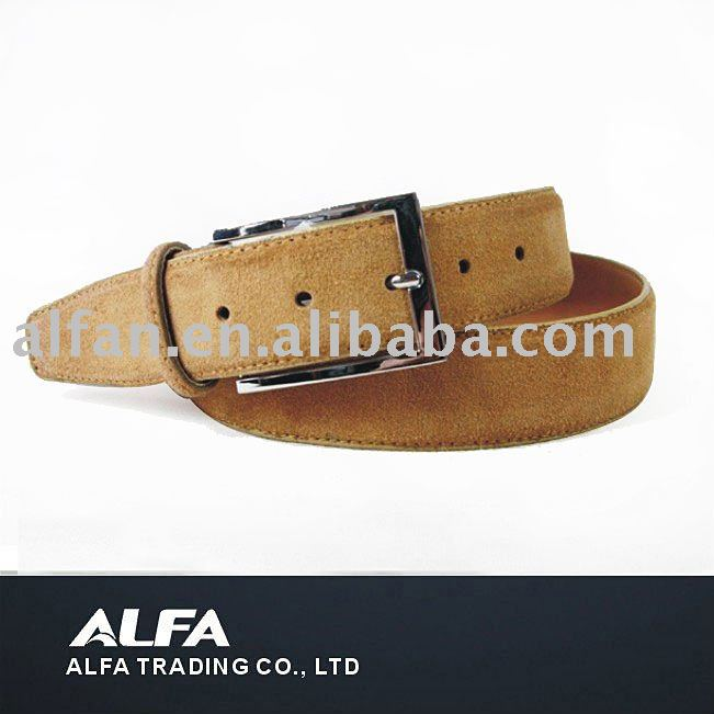 Fashion Man Yellow Leather Belt