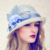 Women Church Hats For Wedding Sinamay Philippine Fabric For Hats