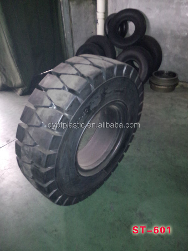 double coin high quality forklift solid tyre 6.00-9 solid tire