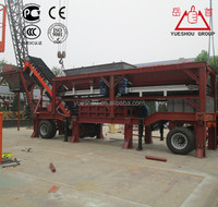 Mobile Stabilized Soil Mixing Plant with production 260t/h~300t/h