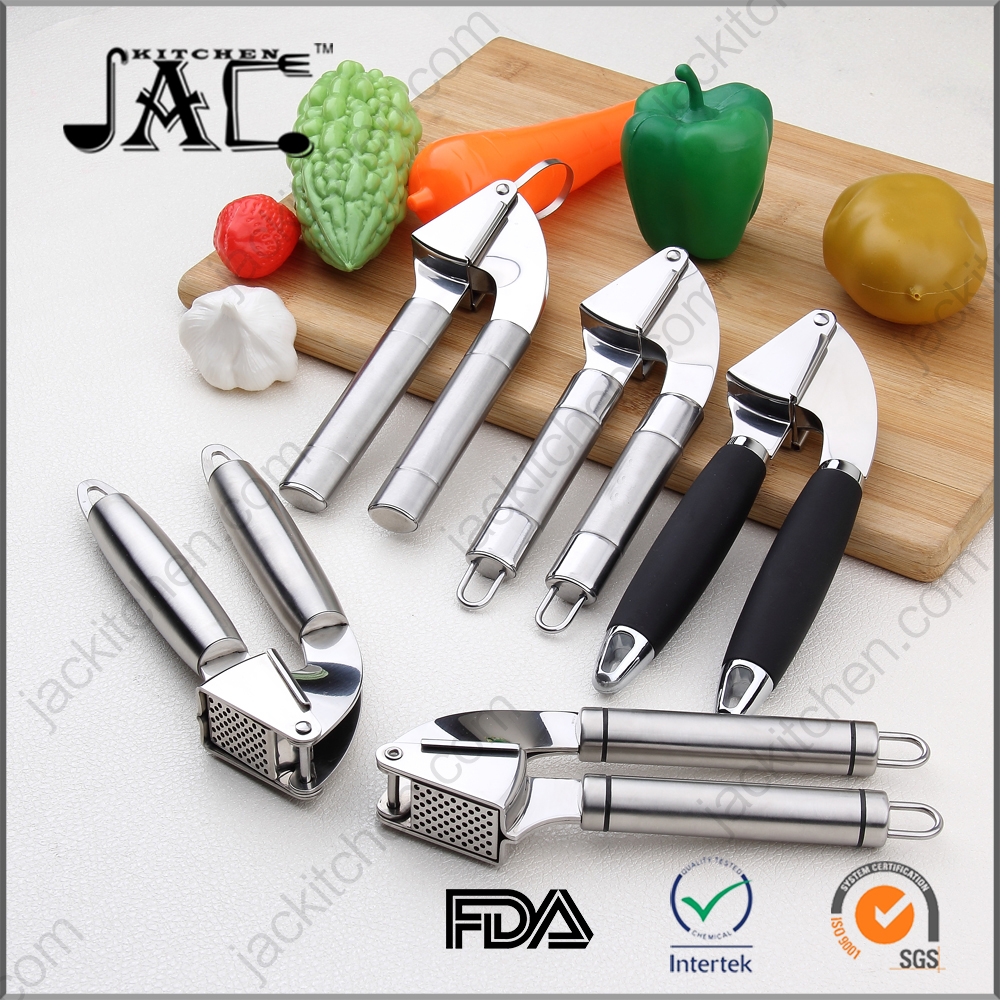 Amazon Hotsale High Quality Stainless Steel Garlic Press
