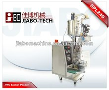 SPL240 Vertical Cosmetic and Conditioner Three Side Sealing Sachet Packing Machine