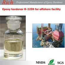 Epoxy curing agent R-2259 for protective coatings with good chemical resistance