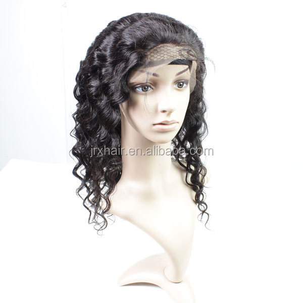 high quality natural color brazilian full lace wigs