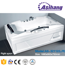 AS32112 china acrylic small whirlpool bathtub sizes