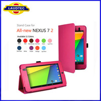 2013 New Product Book Leather Stand Case for Google Nexus 7 2 Generation,Case for Google Nexus 7 II Laudtec
