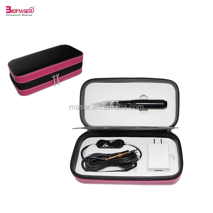 Newest Black CNC Aluminum Digital Eyebrow Permanent Makeup Machine