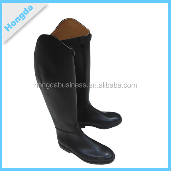 2016 equestrian leather riding boots,custom made genuine leather riding boots