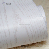 LD8272 XuanMei Light Color Wood Texture Wallpaper Hotel Decoration Wallpaper