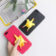 3D Cute amusing TPU Back Mobile Accessories Phone Case For iPhone, For Samsung
