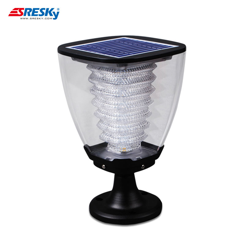 Cheap Plastic Garden Solar Lights Outdoor Decor For Fence Post