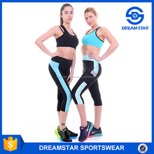 Custom Tight Jogging Pants Yoga Capri Pants