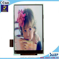 4.3 inch mobile phones lcd screen Portrait type 480*800 without Resistive Touch Panel IPS TYPE TFT