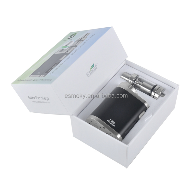 China Supplier First Batch iSmoka iStick Pico mega 80w Kit Top filling and hidden adjustable airflow istick pico mega