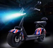 Factory Directly Harley electric scooter 800w 1000w 1500w citycoco electric scooter with big wheels front fork