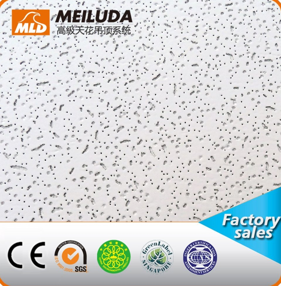 acoustic mineral fiber ceiling board fireproof exterior wall panel