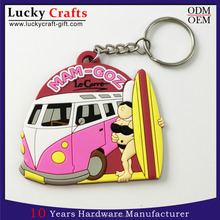Hot selling customized soft pvc key chains hot girls 3D rubber keyring for promotion gift