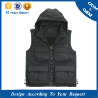 EU Standard Multi Pocket Canvas Work Vest with Pockets, Photography vest