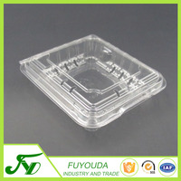 Customized plastic blueberry blister packaging box
