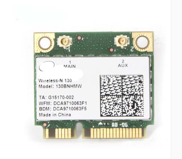 130BNHMW 150Mbps Single Band Wireless Network Card <strong>Bluetooth</strong> Wifi Card For Intel