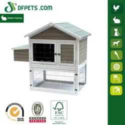 DFPETS DFR01205 New Wooden Garden Rabbit Cage