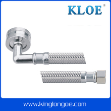 "Stainless steel hose&washing machine hose&3/4""elbow connector"