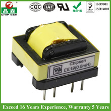 5 Years Warranty EE19 110 To 24 Volt Transformer ROHS UL Certified