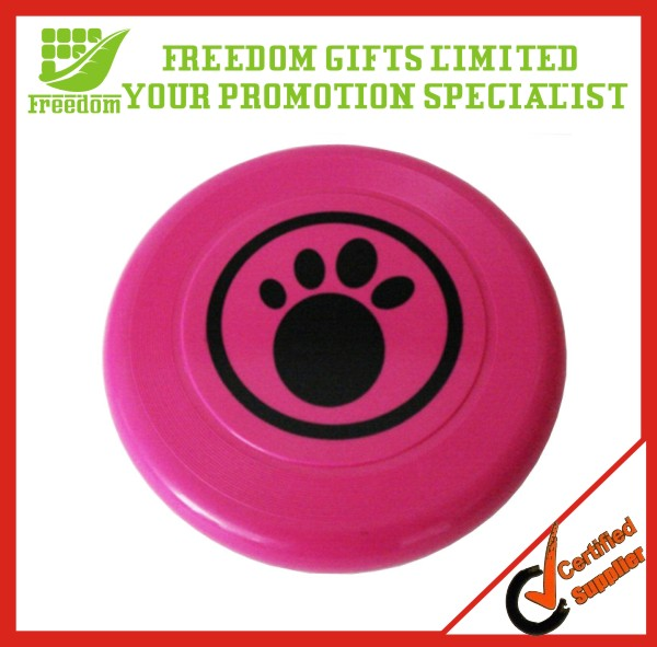 2014 Promotional Logo Plastic Dog Frisbees