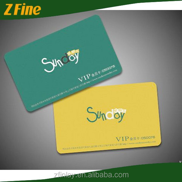PVC Credit Card Size Hico/Loco Magnetic Card/christmas gift card