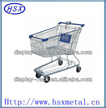 120 liter supermarket shopping cart shopping trolley HSX-S431