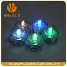 Handmade Mini led sparkling submersible flower candle