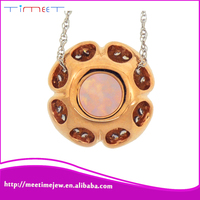 Rose Gold pendants charms for party