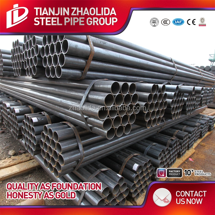 Zhaolida Brand black special section steel tube/pipe price for USD/MT