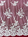 2014 Turkish cotton embroidery tulle lace wholesale made in china