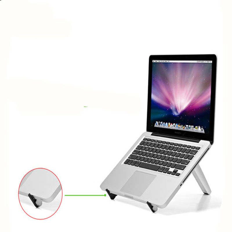 2018 New Aluminum Portable Laptop Tablet PC Phone Home Office Outdoor Desk Bed Stand Holder