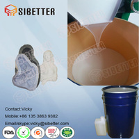 RTV2 Mould Making Silicone Rubber for DIY Plaster Statue Casting