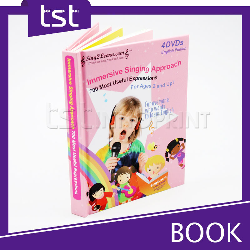 Innovative Children English Books with Hardcover Printing