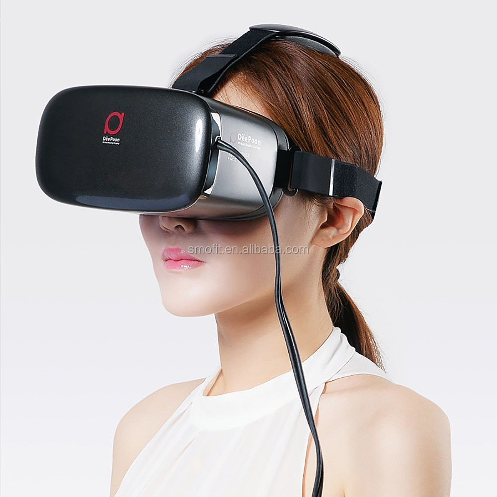Original Google Virtual Really 2016 Hot Sale 3D Glasses Type and Polarized 3D Glasses Type vr Box Deepoon E2 VR 3D