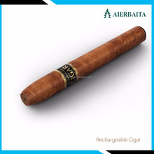 Cuban disposable e cigar, refillable rechargeable electronic cigar