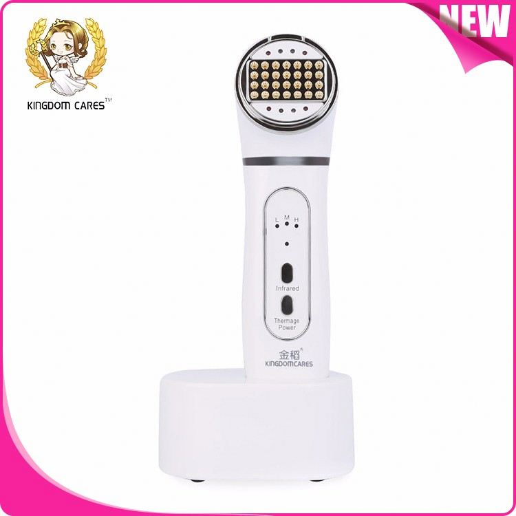 Handheld thermagic radio frequency rf facial machines for home use