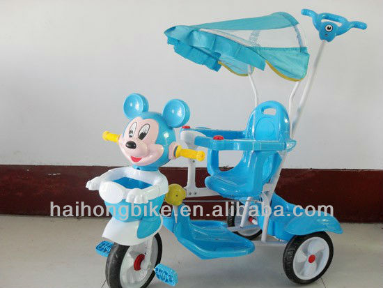 Beautiful plastic kid tricycle