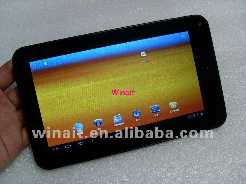 7 inch capacitive multi-touch screen, android 4.0 O.S, 1.5Ghz VIA8850 CPU tablet pc