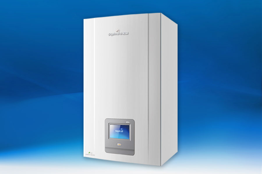 CE certificated Wall Mounted Condensing Gas Boiler 24KW DEVOTION 15 Years manufacturer
