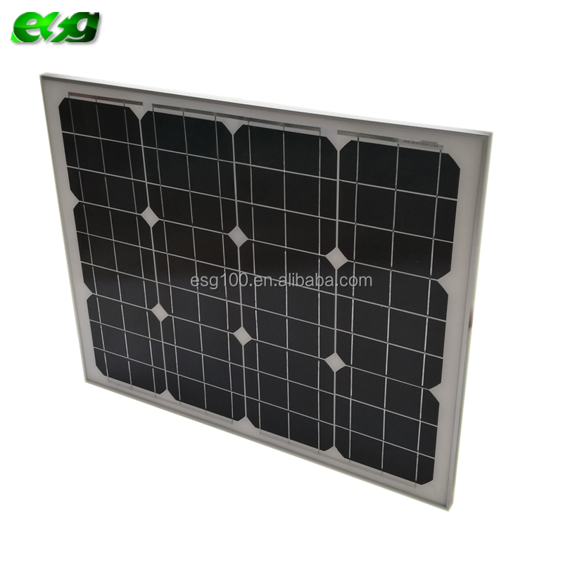 Hot sale in Germany 60w monocrystalline silicon solar panel for solar system